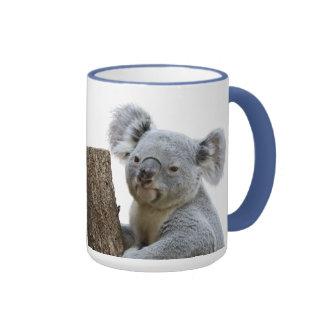 Koala Ringer Coffee Mug