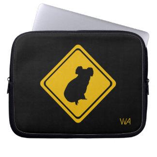 koala road sign laptop computer sleeves