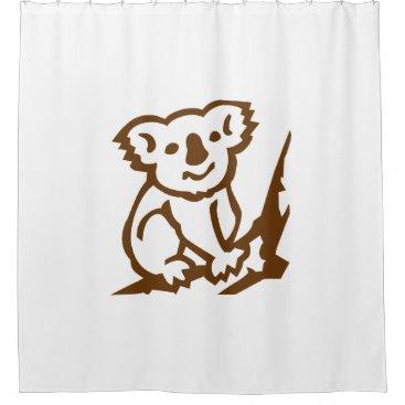Koala Shower Curtain