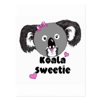 Koala Sweetie Postcard
