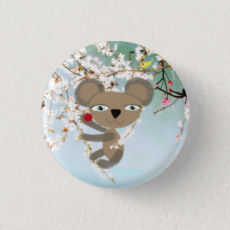 Koala Tender little cute Bear Cherry Bird Button