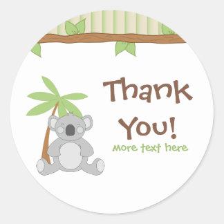 Koala Thank You Stickers