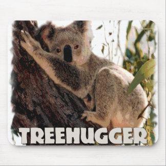 koala treehugger mouse pad