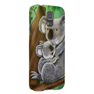 Koala y bebé lindos fundas para galaxy s5