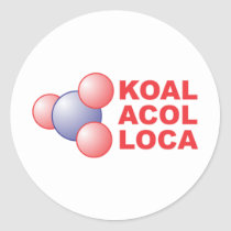 koalacola classic round sticker