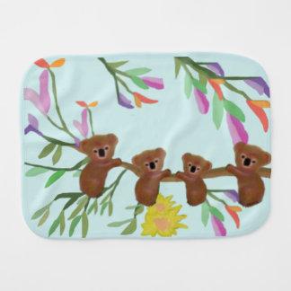 Koalas del bebé paños de bebé