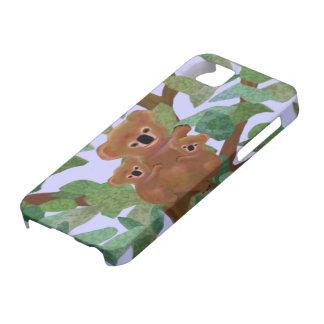 Koalas en el caso de IPhone 5 del eucalipto iPhone 5 Case-Mate Funda