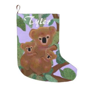 Koalas Eucalyptus Christmas Stockings