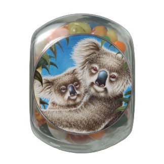 Koalas Glass Jars