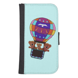 Koalas Hot Air Balloon Ride Phone Wallet