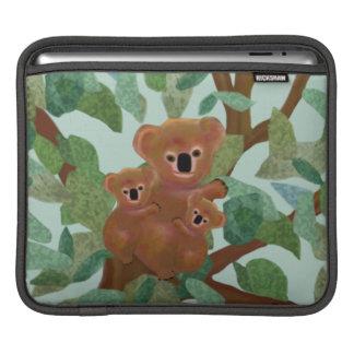 Koalas in the Eucalyptus iPad Sleeves