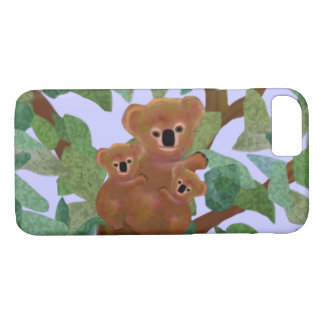 Koalas in the Eucalyptus iPhone 7 case