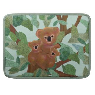Koalas in the Eucalyptus Sleeve For MacBooks