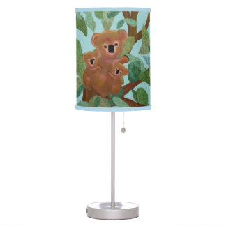 Koalas in the Eucalyptus Table Lamp