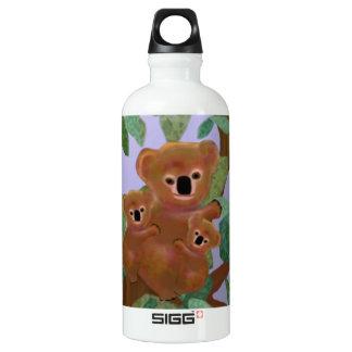 Koalas in the Eucalyptus Water Bottle
