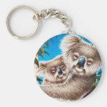 Koalas Keychain
