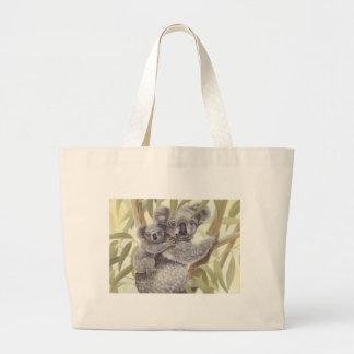 Koalas Large Tote Bag