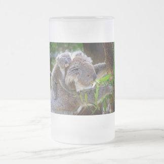 Koalas lindas taza cristal mate