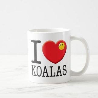 Koalas Love Basic White Mug