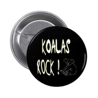 Koalas Rock! Button