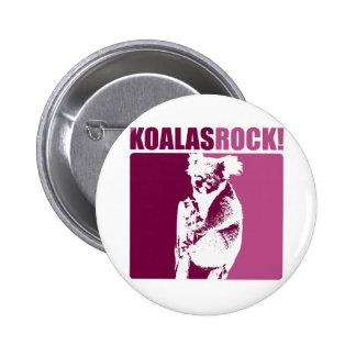 Koalas Rock! 2 Inch Round Button