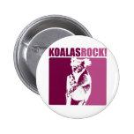 Koalas Rock! Buttons