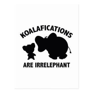 Koalifications es Irrelephant Postal