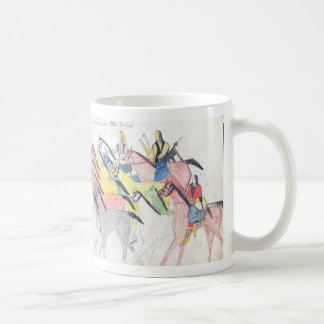 Koba: Driving the horses Classic White Coffee Mug