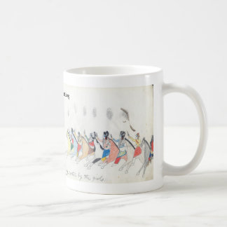 Koba:  Young men returning from a foray greeted... Classic White Coffee Mug