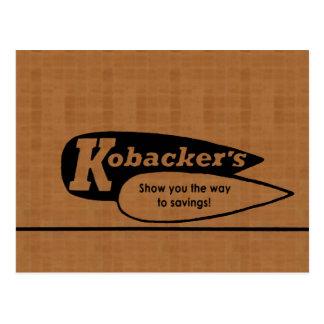 Kobacker's Postcard