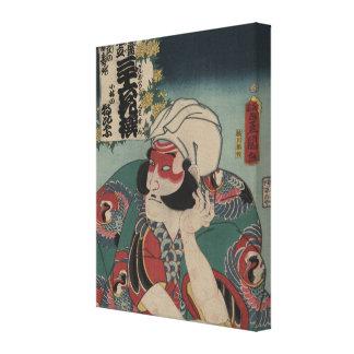 Kobayashi - Vintage Japanese Art - pre-1900s Canvas Print