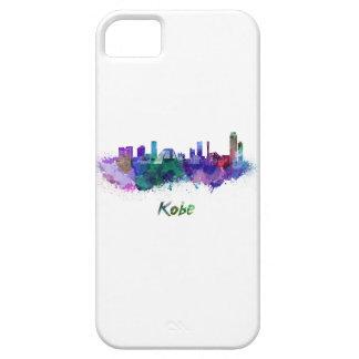 Kobe skyline in watercolor iPhone SE/5/5s case