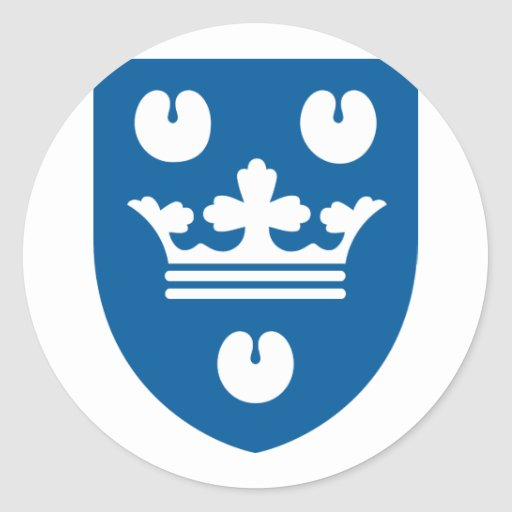 kobenhavn, Denmark Classic Round Sticker