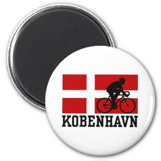 Kobenhavn (male) 2 inch round magnet