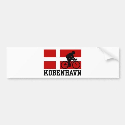 Kobenhavn (male) car bumper sticker