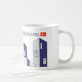 København vinduer - Copenhagen windows Classic White Coffee Mug