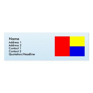Koberice u Brna, Czech Business Card