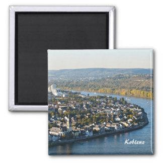 Koblenz 2 Inch Square Magnet