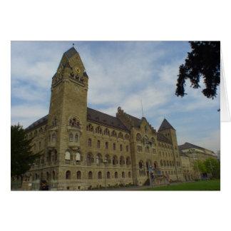 Koblenz Amtsgericht / Hall of Justice Card