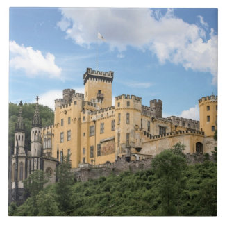 Koblenz, Germany, Stolzenfels Castle, Schloss Tile
