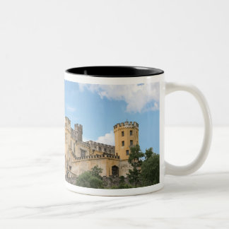 Koblenz, Germany, Stolzenfels Castle, Schloss Two-Tone Coffee Mug