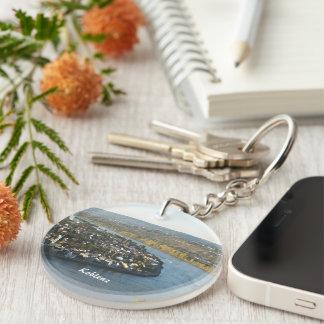 Koblenz Single-Sided Round Acrylic Keychain