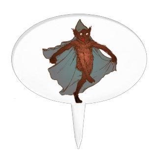 Kobold dwarf goblin imp cake topper