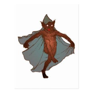 Kobold dwarf goblin imp postcard