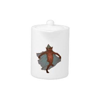 Kobold dwarf goblin imp teapot