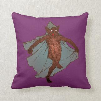 Kobold dwarf goblin imp throw pillow