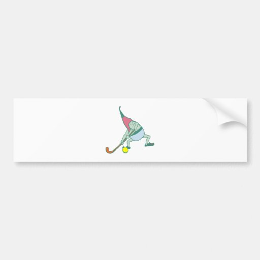 Kobold gnome imp goblin car bumper sticker