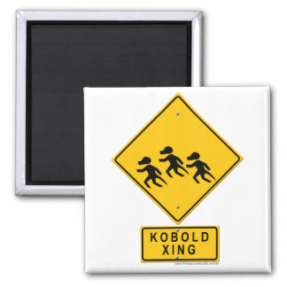 Kobold XING 2 Inch Square Magnet