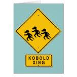Kobold XING Felicitacion