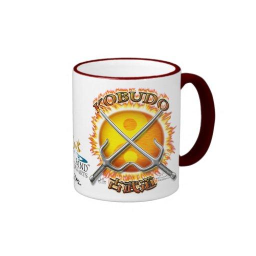 Kobudo Flaming Yin/Yang Sun Mug